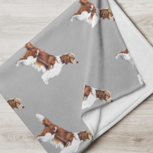 Welsh Springer Spaniel – Throw Blanket