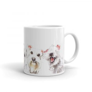 White Here, White Now – Mug