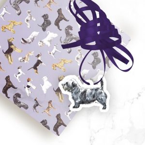 Glen of Imaal Terrier – Shaped Gift Tags (Pack of Three)
