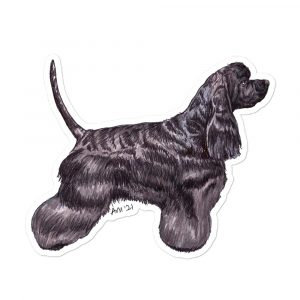 American Cocker Spaniel – Breed Shaped Stickers