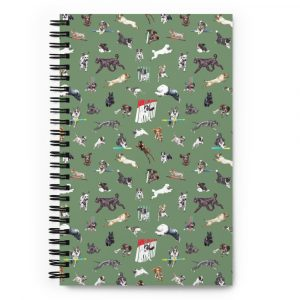 May the Course be With You – Spiral notebook