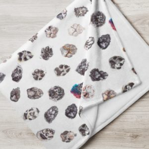 Paws – Throw Blanket