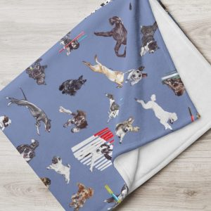 May the Course Be With You – Agility – Throw Blanket – Various Colours Available