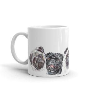 I Wish I Was a Pug Rocker – Mug
