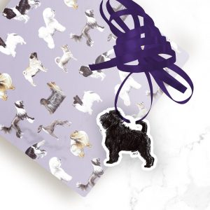 Affenpinscher – Shaped Gift Tags (Pack of Three)