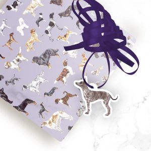 American Hairless Terrier – Shaped Gift Tags (Pack of Three)