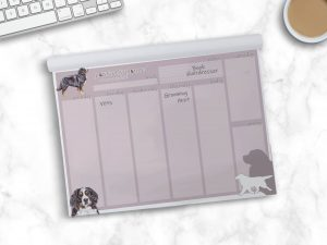Bernese Mountain Dog – Weekly Planner