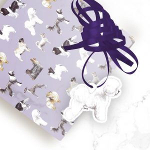 Bichon Frise – Shaped Gift Tags (Pack of Three)