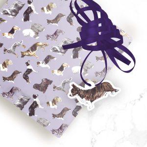 Cardigan Welsh Corgi – Shaped Gift Tags (Pack of Three)