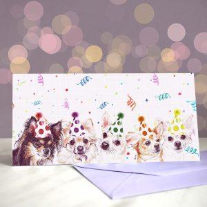 Cha Cha Chihuahua – Greeting Card