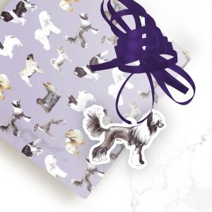 Chinese Crested – Shaped Gift Tags (Pack of Three)