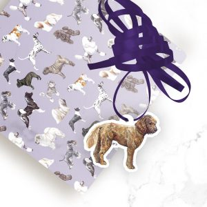 Cockapoo Red – Shaped Gift Tags (Pack of Three)