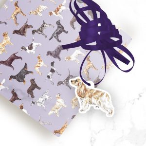 Cocker Spaniel Show – Shaped Gift Tags (Pack of Three)