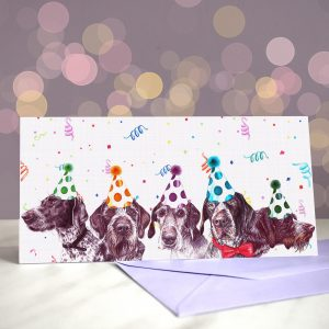 GWooPs Upside Your Head – Greeting Card