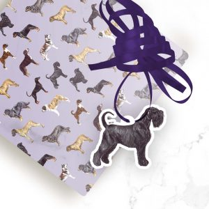 Giant Schnauzer – Shaped Gift Tags (Pack of Three)