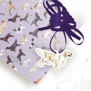 Golden Retriever – Shaped Gift Tags (Pack of Three)