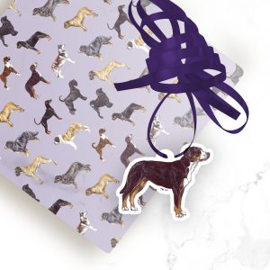Greater Swiss Mountain Dog – Shaped Gift Tags (Pack of Three)