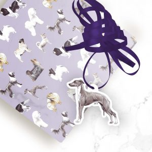 Italian Greyhound – Shaped Gift Tags (Pack of Three)