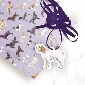 Italian Spinone – Shaped Gift Tags (Pack of Three)