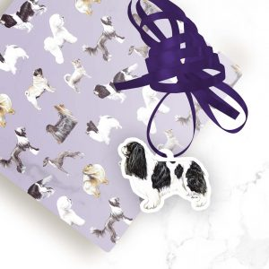 King Charles Spaniel – Shaped Gift Tags (Pack of Three)
