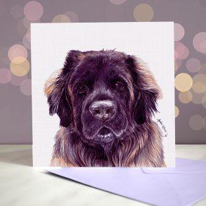 Leonberger – Greeting Card