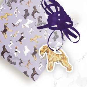 Lakeland Terrier – Shaped Gift Tags (Pack of Three)