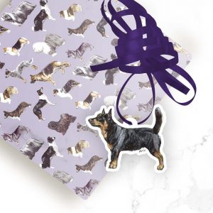 Lancashire Heeler – Shaped Gift Tags (Pack of Three)