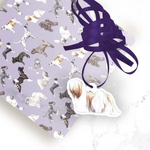 Lhasa Apso – Shaped Gift Tags (Pack of Three)