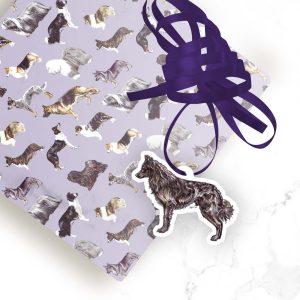Mudi – Shaped Gift Tags (Pack of Three)