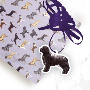 Newfoundland – Shaped Gift Tags (Pack of Three)