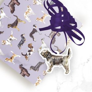 Otterhound – Shaped Gift Tags (Pack of Three)