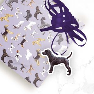 Patterdale Terrier – Shaped Gift Tags (Pack of Three)