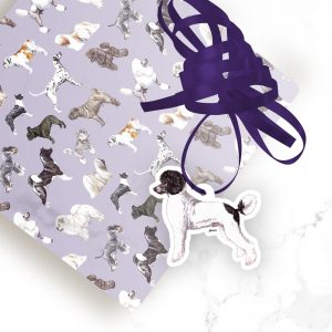 Poodle Parti – Shaped Gift Tags (Pack of Three)