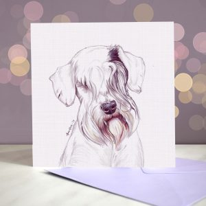 Sealyham Terrier – Greeting Card