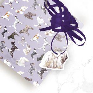 Shih Tzu – Shaped Gift Tags (Pack of Three)