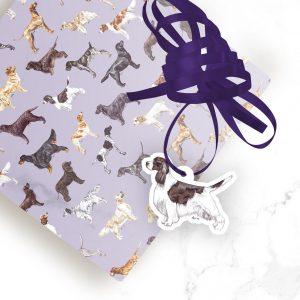 Springer Spaniel Show – Shaped Gift Tags (Pack of Three)