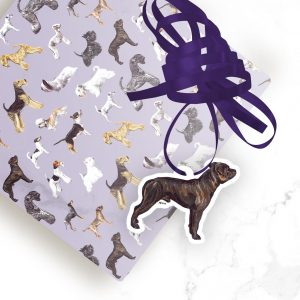 Staffordshire Bull Terrier – Shaped Gift Tags (Pack of Three)