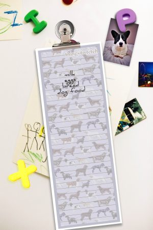 Star Spanieled Banner – Shopping List Grey