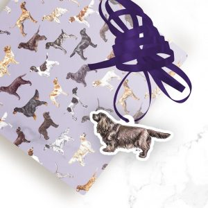 Sussex Spaniel – Shaped Gift Tags (Pack of Three)