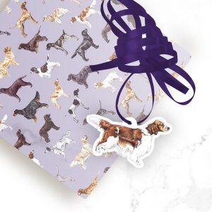 Welsh Springer Spaniel – Shaped Gift Tags (Pack of Three)