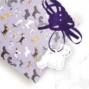 West Highland White Terrier – Shaped Gift Tags (Pack of Three)