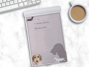 Dachshund Wire Haired – To Do List Pad
