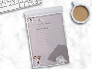 Fox Terrier Wire Haired – To Do List Pad