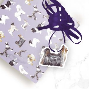 Yorkshire Terrier – Shaped Gift Tags (Pack of Three)