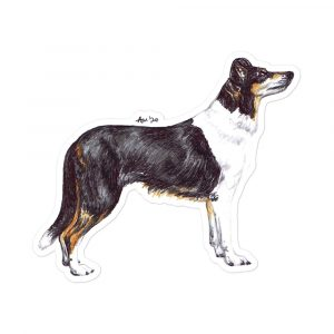 Smooth Collie – Stickers