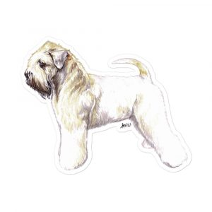 Soft Coated Wheaten Terrier – Stickers