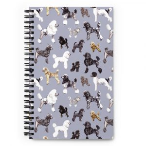 Poods Glorious Poods – Spiral notebook