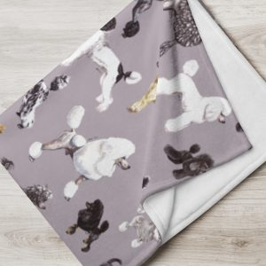 Poods Glorious Poods – Throw Blanket – Various Colours Available