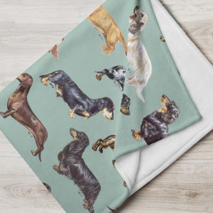 Lose Yourself to Dax – Throw Blanket – Various Colours Available