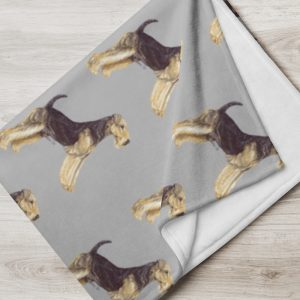Airedale Terrier – Throw Blanket